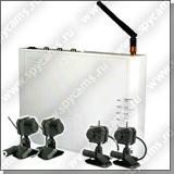 Беспроводная система на 4 камеры Quadro-Hamy
